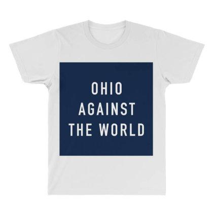 Ohio The World All Over Men's T-shirt Designed By Gita Nava
