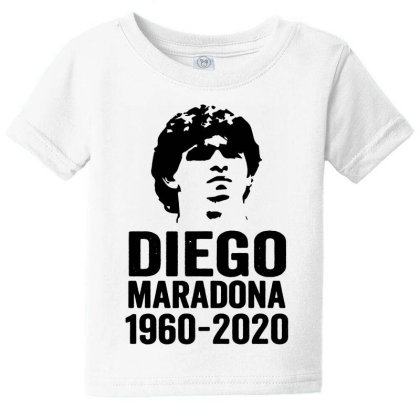 The Legend Diego Armando Maradona 1960 2020 Baby Tee Designed By Smile 4ever