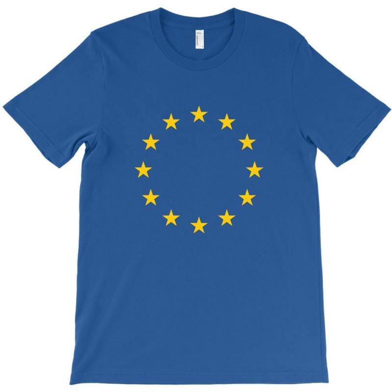 Living Eu Flag T-shirt | Artistshot