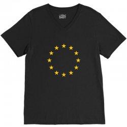 Living EU Flag V-Neck Tee | Artistshot