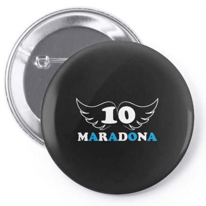 Diego Maradona Football Soccer Fan Lover Pin-back Button Designed By Smile 4ever