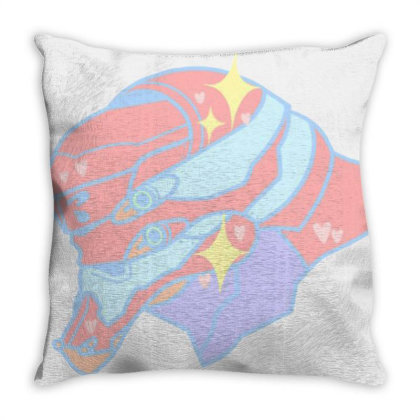 Eva Unit Gamers Pastel Throw Pillow Designed By Frasna
