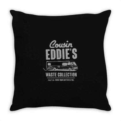 Cousin Eddie Throw Pillow Designed By Yusrizal_