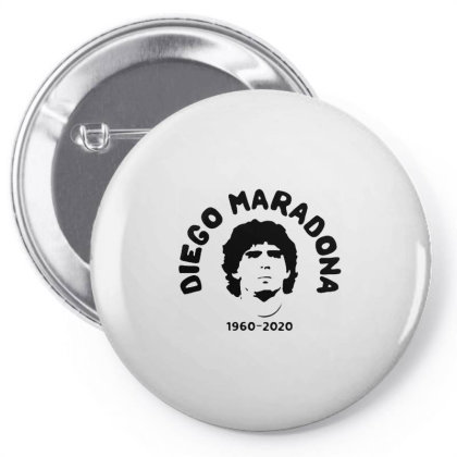 Diego Maradona 1960 2020 Pin-back Button Designed By Smile 4ever