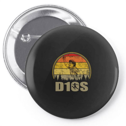 Diego Armando Maradona D10s Vintage Pin-back Button Designed By Smile 4ever