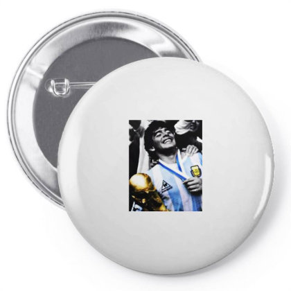 Diego Armando Maradona World Cup Memories Pin-back Button Designed By Smile 4ever