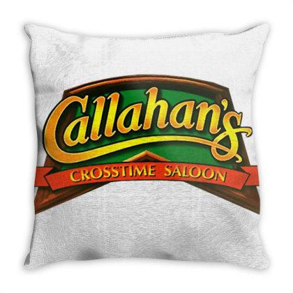Callahans Crosstime Saloon Throw Pillow Designed By Frasna