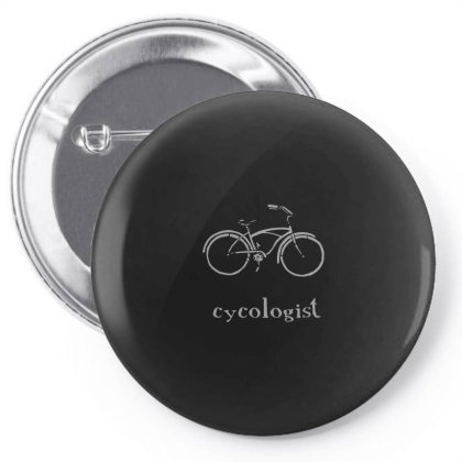 Cycologist Funny Bike Spin Cycling Humor Bicycle Lover Pin-back Button Designed By Yusrizal_
