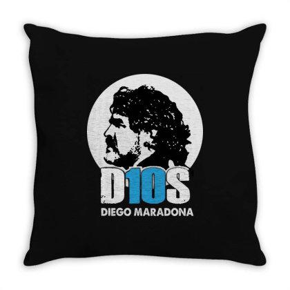Diego Armando Maradona Argentina Hand Of God Throw Pillow Designed By Smile 4ever