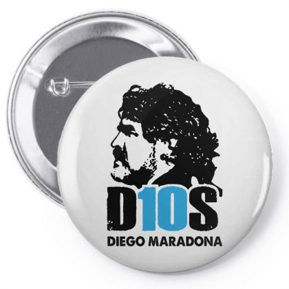 Diego Armando Maradona Argentina Pin-back Button Designed By Smile 4ever