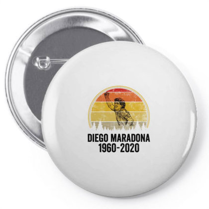 Diego Armando Maradona 1960 2020 Vintage Pin-back Button Designed By Smile 4ever