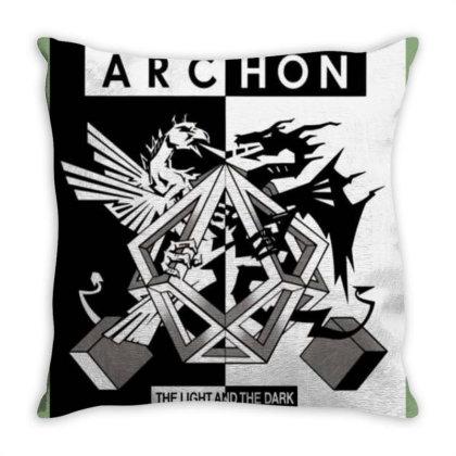 Archon Game Throw Pillow Designed By Ciko Prasetyawan
