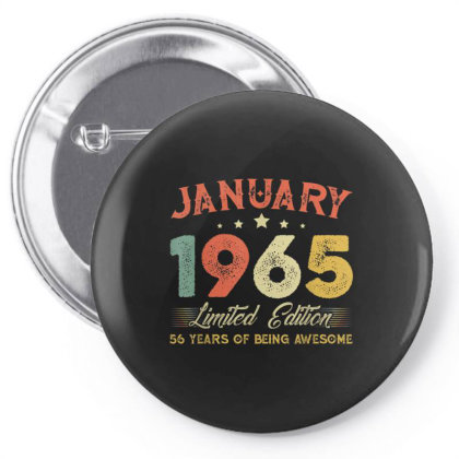 January 1965 56 Years Old Pin-back Button Designed By Koopshawneen