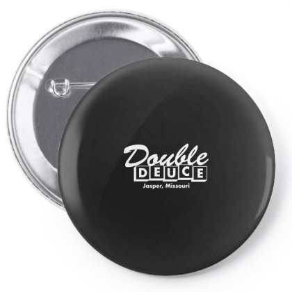 Double Deuce Pin-back Button Designed By Yusrizal_