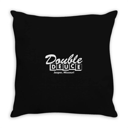 Double Deuce Throw Pillow Designed By Yusrizal_
