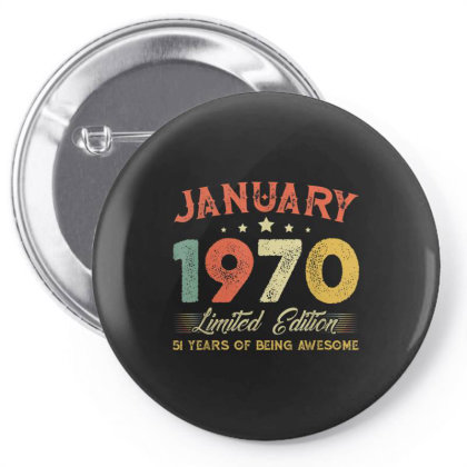 January 1970 51 Years Old Pin-back Button Designed By Koopshawneen