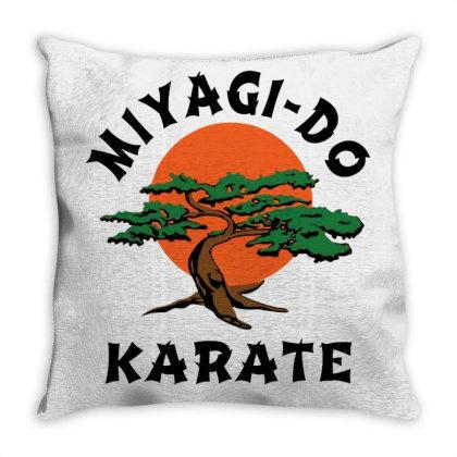 Miyagi Do Original Merch Throw Pillow Designed By Gilaban