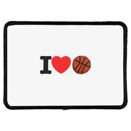 Basketball Rectangle Patch Designed By Ciko Prasetyawan