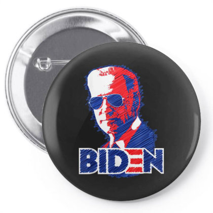 Biden Aviator Sunglasses 2020 Pin-back Button Designed By Koopshawneen
