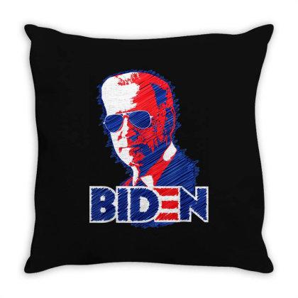 Biden Aviator Sunglasses 2020 Throw Pillow Designed By Koopshawneen