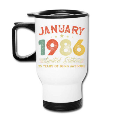 January 1986 35 Years Old Travel Mug Designed By Koopshawneen
