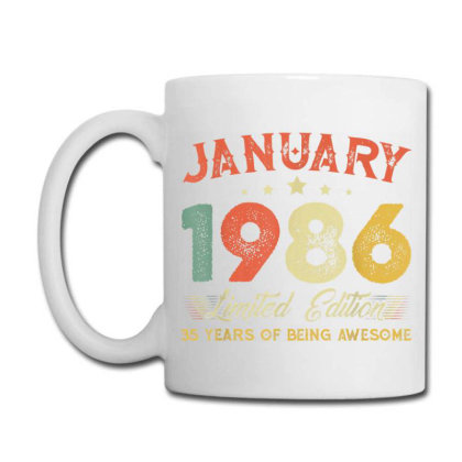 January 1986 35 Years Old Coffee Mug Designed By Koopshawneen