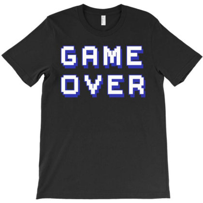 Game Over T-shirt Designed By Ismi