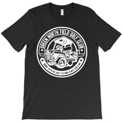 Green Northfield Golf Club T-shirt Designed By Ismi