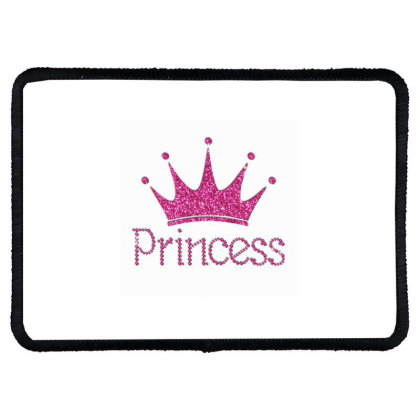 Princess Baby Rectangle Patch Designed By Coşkun