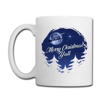 Merry Christmas Y'all Coffee Mug Designed By Akin