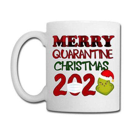 Merry Quarantine Christmas Grinch 2020 Coffee Mug Designed By Akin