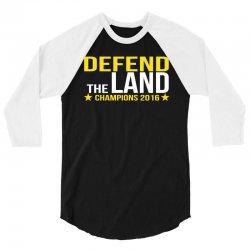 "Cleveland Cavaliers Champions 2016 ""DEFEND THE LA 3/4 Sleeve Shirt | Artistshot"