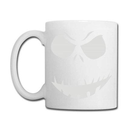 Evil Scary Pumpkin Face Coffee Mug Designed By Funtee