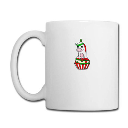 Christmas Unicorn Cupcake Coffee Mug Designed By Chiks