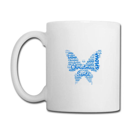 Christmas Butterfly Coffee Mug Designed By Chiks