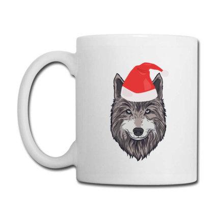 Christmas Funny Santa Wolf Winter Holiday Coffee Mug Designed By Blackstone