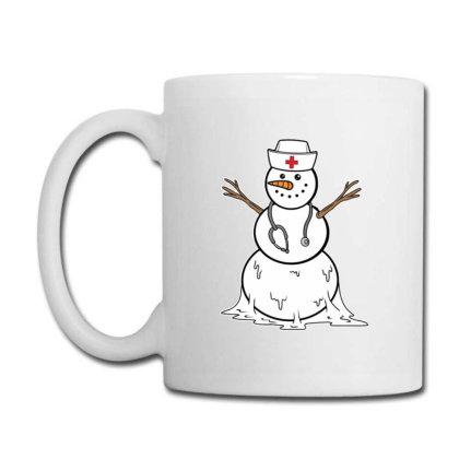 Christmas Funny Snowman Nurse Holiday Nursing Coffee Mug Designed By Blackstone