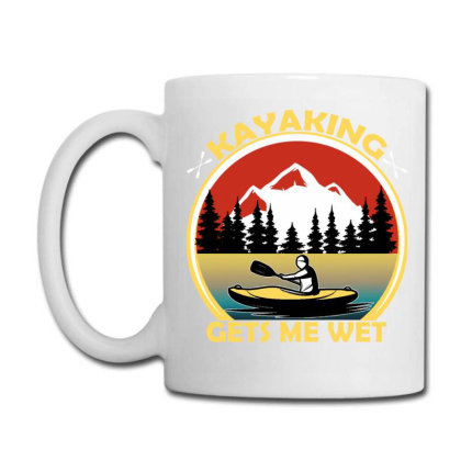 Kayaking Gets Me Wet Coffee Mug Designed By Ashlıcar