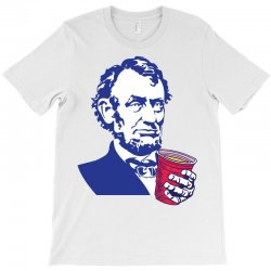 Abraham Lincoln Celebrating 4th Of July T-Shirt | Artistshot
