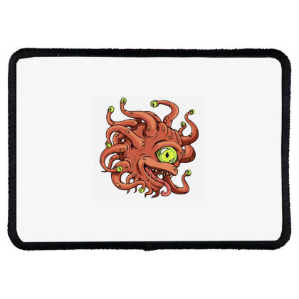 Beholder Monster Rectangle Patch Designed By Rava Kuncara