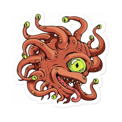 Beholder Monster Sticker Designed By Rava Kuncara