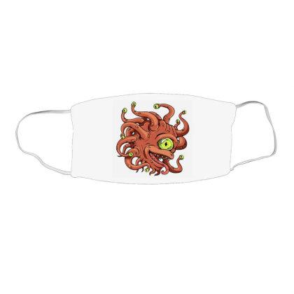 Beholder Monster Face Mask Rectangle Designed By Rava Kuncara