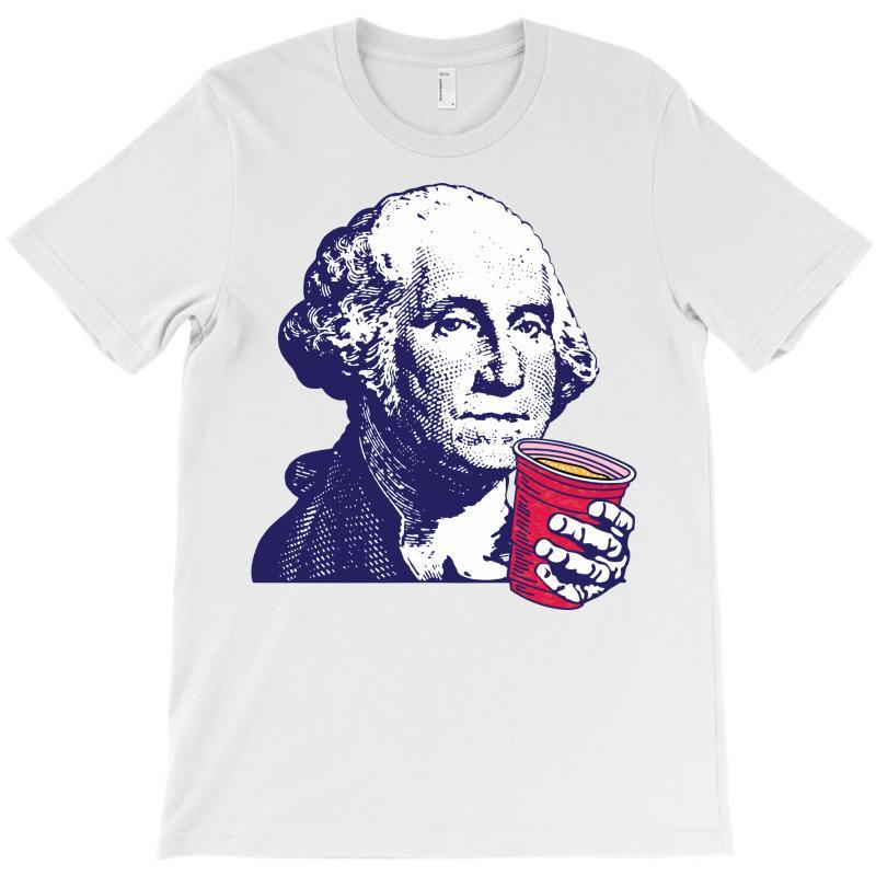 George Washington Celebrating 4th Of July T-shirt | Artistshot