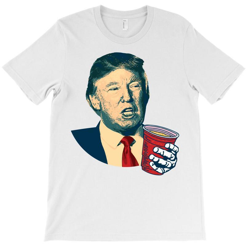 Donald Trump Celebrating 4th Of July T-shirt   Artistshot