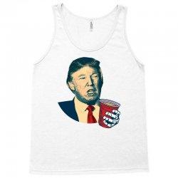 Donald Trump Celebrating 4th Of July Tank Top   Artistshot