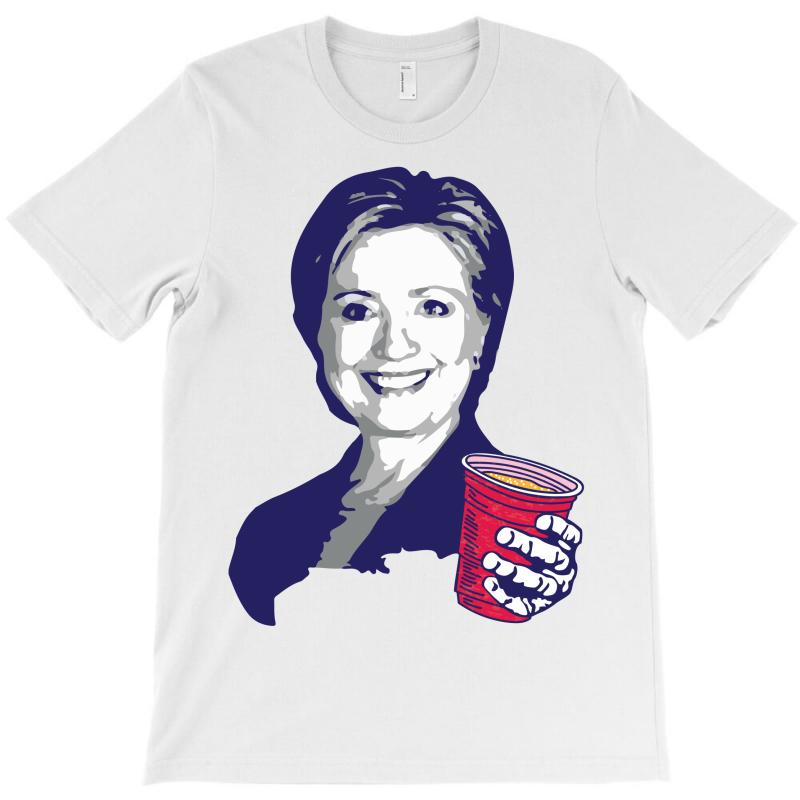 Hillary Clinton Celebrating 4th Of July T-shirt | Artistshot