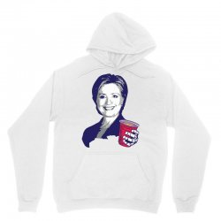 Hillary Clinton Celebrating 4th Of July Unisex Hoodie | Artistshot