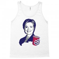 Hillary Clinton Celebrating 4th Of July Tank Top | Artistshot