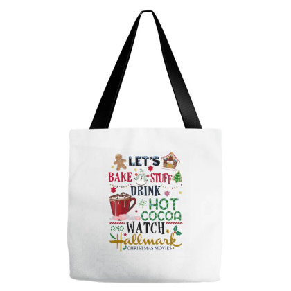 Let's Bake Stuff Drink Tote Bags Designed By Smile 4ever