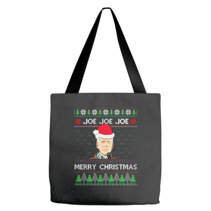 Joe Merry Christmas Tote Bags Designed By Romeo And Juliet